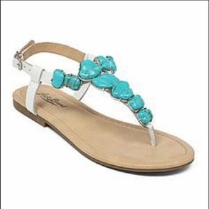 Lucky brand leather sandals